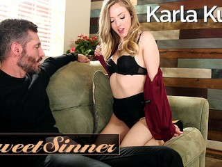SweetSinner – Maried Milf Karla Kush cucks husband for fit big cock