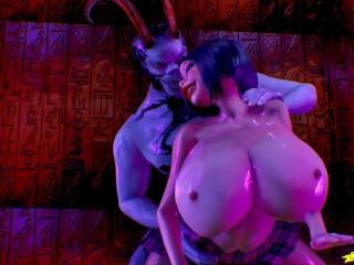 Agares 3D Monster Cock Animation SFM