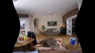 Tina Kay´s breakfast fuck in VR Porn