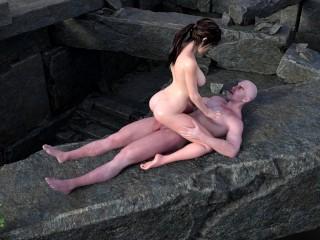 Lara croft animated porn