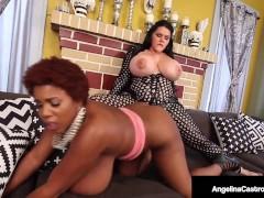 Big Butt BBW Angelina Castro Dick Drills Thick Maserati?