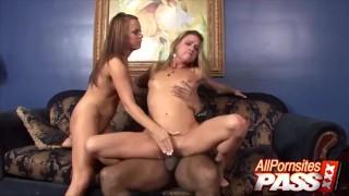 Gangster Fucks Milf And Teen Threesome Tandem