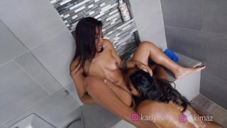 Two Horny Latinas Having Fun