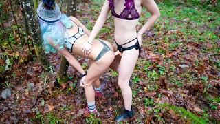 Lesbian Dominates Girl