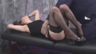 Tickle Torture - Fetish Star Calico Lane Part 2 - Tickled & Begging in Stockings