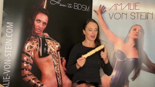 Handmade Adult toy! Dildo crafted out of wood!
