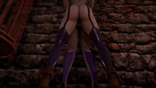 Kuroinu - Chloe loves Olga's pussy [Futa] [3D]