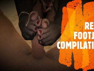 FOOTJOB COMPILATION - BEST OF REA
