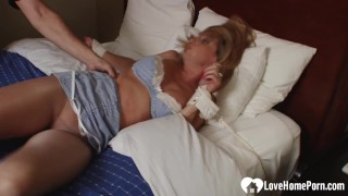 Bound hot mom's friend enjoys being tickled