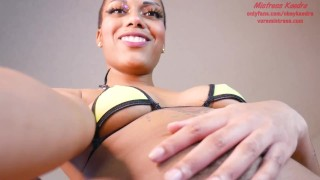 Hairy Giantess Tries On Bikinis Before Swallowing You TEASER