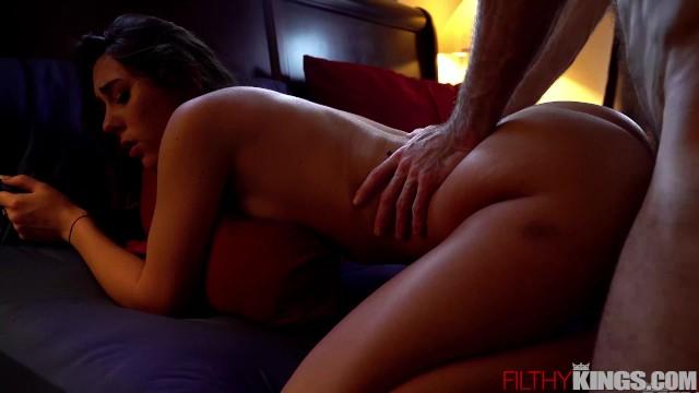 Hot Step-Sister Mackenzie Mace Fucks Big Dick for Sex Tape