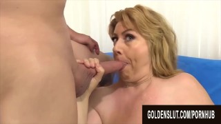 Golden Slut - Aunties Stuffing Their Mouths Compilation