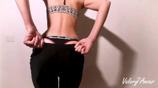 ENGLISH handjob instructions - horny girl after yoga class - JOI CON COUNTDOWN