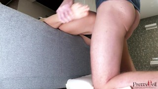 She has amazing Cock Sucking Skills and gets Fucked in Her Tight Pussy
