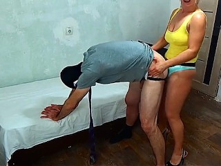 Pegging Strapon in action