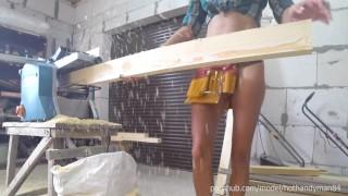 DIY Bed 2-5 Work with Planer Thicknesser + Bonus Head (4K, Music)