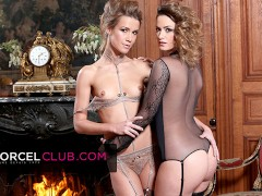 Claire Castel & Alexis Crystal: Warm French Couple For 3 Successful Guys
