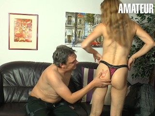 DeutschlandReport – Big Ass German Mature Hardcore Kinky Sex With Old Guy – AMATEUREURO