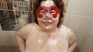 Milf Shower Solo