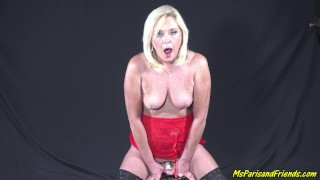 Ms Paris Does Two Screaming Rounds on the MOTORBUNNY