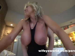 Wife Pounded And Cum Filled By Husband's Friend On Christmas Eve