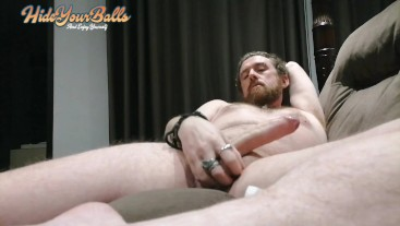 Perfect intense male orgasm and cumshot