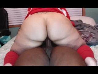 Black Grinch fucking Mrs. Claus fat pussy, he enjoyed that wet, plump Christmas booty