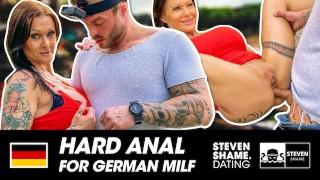 Anal bitch: Julia Exclusiv lets a random guy fuck her ass! stevenshame.dating