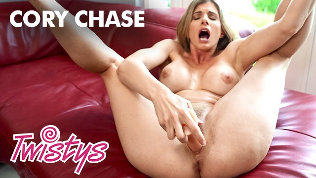Twistys - Cory Chase gets a a quarantine delivery and shows off her new toys