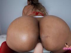 Dildo Ride: Hot Latina Nurse Cures your Ass Addiction - SelenaRyan