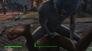 A porn adventure of a beautiful American woman in Fallout 4 | Porno Game 3d