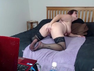 Pantyhose Hosiery Masturbation Fucking with Toys ALHANA WINTER Live Cam Show
