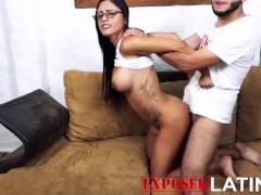 Evangely Saenz Casting spanish porn