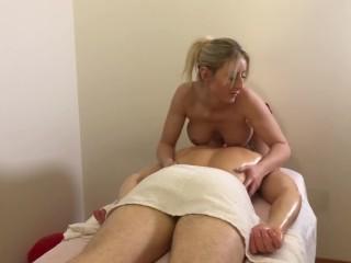 Blonde happy ending tug spy blonde big tits Massage Happy Ending Porn Videos Fuqqt Com