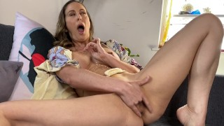 Board Stepmom helps stepson get off with Dad in the other room