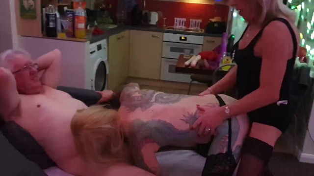Sexy new TGirl Charlotte has her first orgy