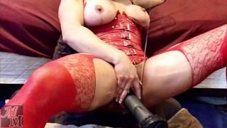 Milf Dildo Orgasm