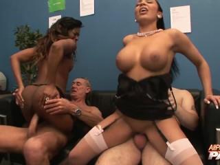 foursome, orgy, big tits, british, big ass, allpornsitespass, 60fps, babe, office, pornstar, oral, rough sex, black, jasmine webb, ebony, fucking, romana ryder, english, stockings, groupsex, cock sucking, babes, interracial, pornstars