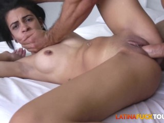 Sexy Latina Rebel Babe Gets AnalFucked By Big White Cock xnxx latina