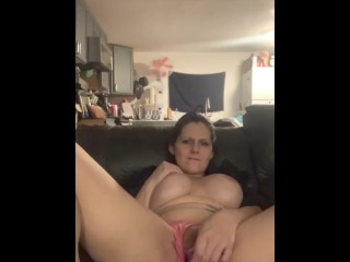 Vibrator on the couch pt 2