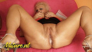 Busty Blonde MILF Craves For BBC Cum In Her Pussy
