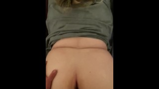Fucking Milf Doggystyle until she cums on my dick