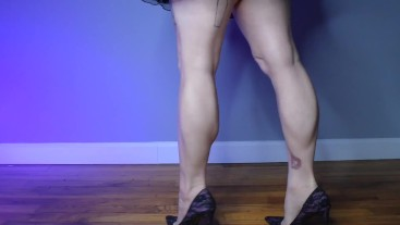 Black mailed by your Calf Muscle Obsession-Homewrecking Fantasy