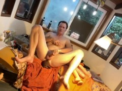Anal Double Dildo Ginger