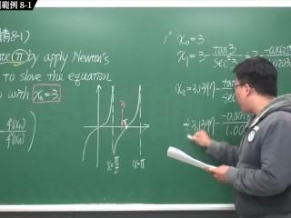 [重生][真・Pronhub 最大華人微積分教學頻道] 微分應用篇重點八:牛頓法|精選範例 8-1|數學老師張旭