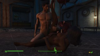 Faithful Servant Ash is a muscular guy ready to fulfill any sex whim   Fallout heroes