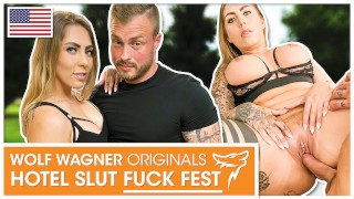 Porn stud Kevin bones needy, horny MILF Mia Blow for his own satisfaction! Wolf Wagner