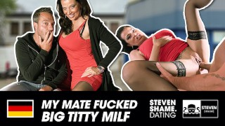 Filthy fuck with naughty MILF DaCada! STEVEN SHAME DATING