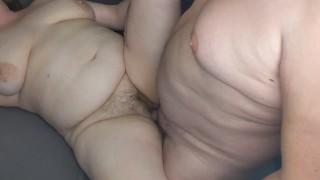 Daddy fucking chubby lovers milf hard till she cum's