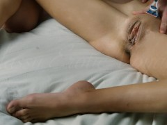 Fetish Shaving Clit exposure and Fingering opened pussy